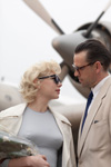 Michelle Williams (Marilyn Monroe), Dougray Scott (Arthur Miller)