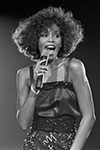 Whitney Houston live im Wembley Stadion